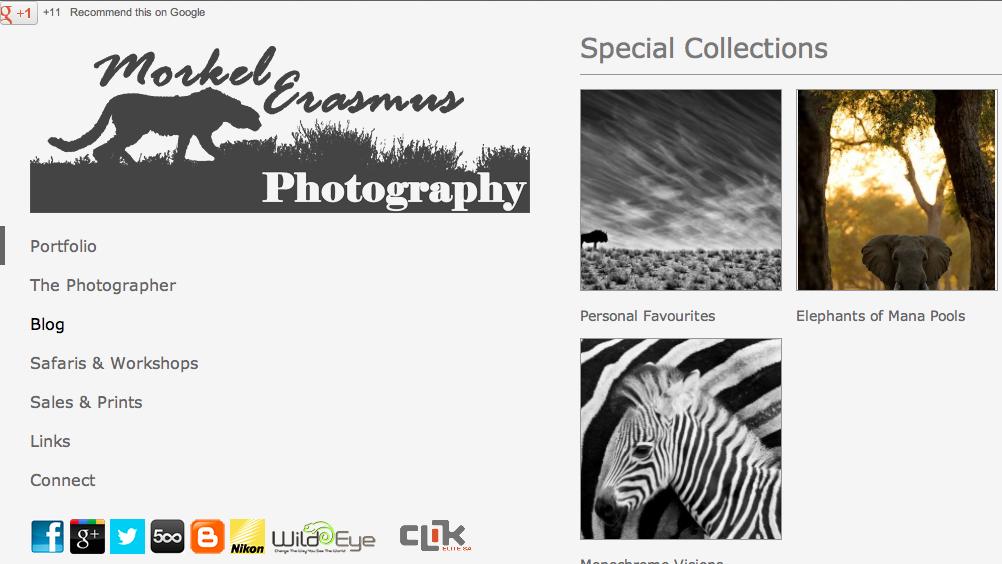 Wildlife Photographers (8): Morkel Erasmus