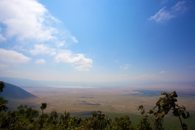 Ngorongoro crater by DC Loew
